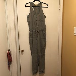 Anthropologie Cloth and Stone Tencel Jumpsuit